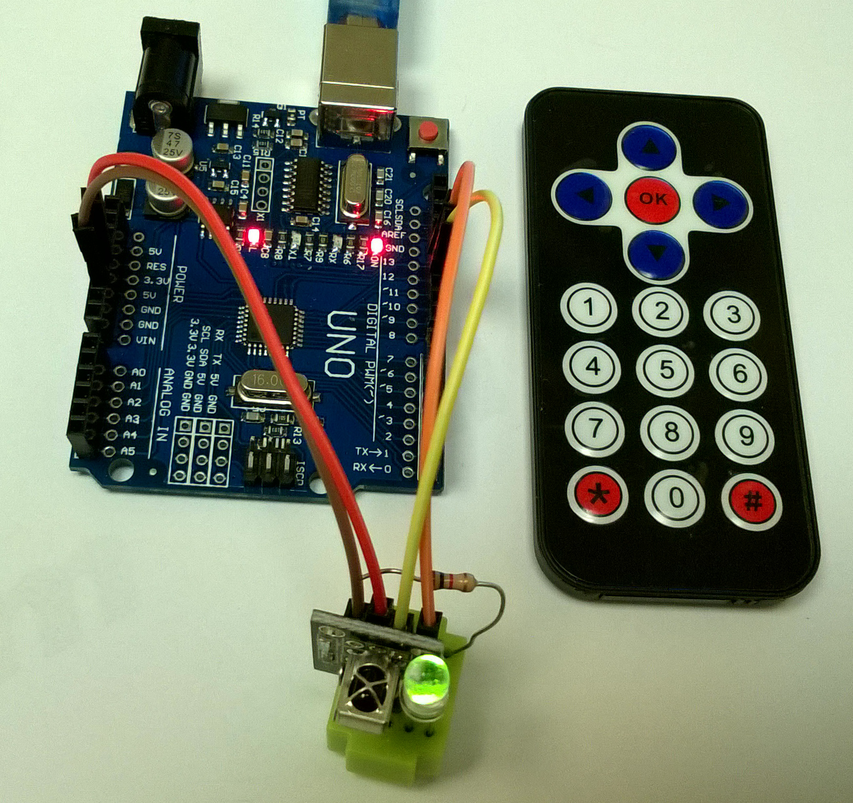 Arduino Playground - SharpIR